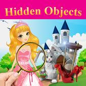 Hidden objects - Princess Fairytale icon