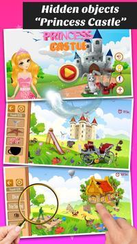 Hidden objects - Princess Fairytale poster