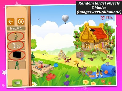 Hidden objects - Princess Fairytale apk screenshot