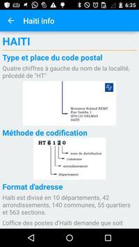 Haiti Postal apk screenshot