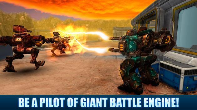 Battle Mech Wars 3D PvP poster