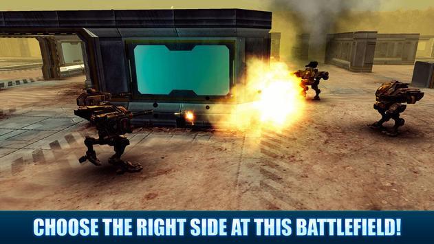 Battle Mech Wars 3D PvP apk screenshot