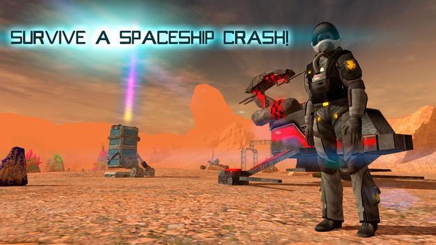Martian Survival Simulator 3D poster