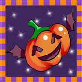 Little Witch on Halloween icon