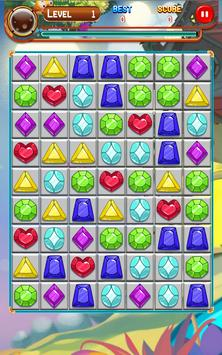 Jewels Crystal World screenshot 8