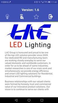 LAC LED Bulb poster