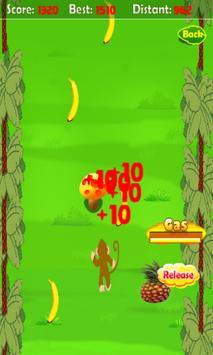 Crazy Monkey Running screenshot 1