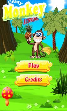Crazy Monkey Running screenshot 9