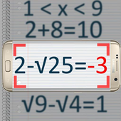 Maths scan Solution Simulator icon