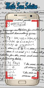 Maths scan Solution Simulator apk screenshot