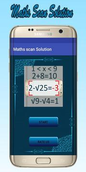 Maths scan Solution Simulator poster