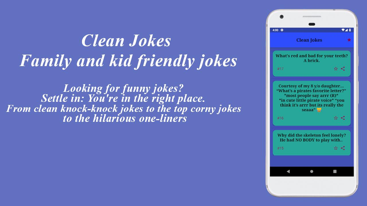 Clean Jokes for Android - APK Download