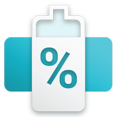 Battery Overlay Percent icon
