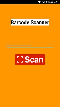 Barcode Scanner Cartaz