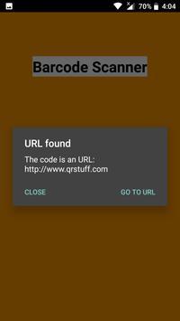Barcode Scanner capture d'écran 2