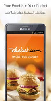 Guide for Talabat : Food Delivery apk screenshot