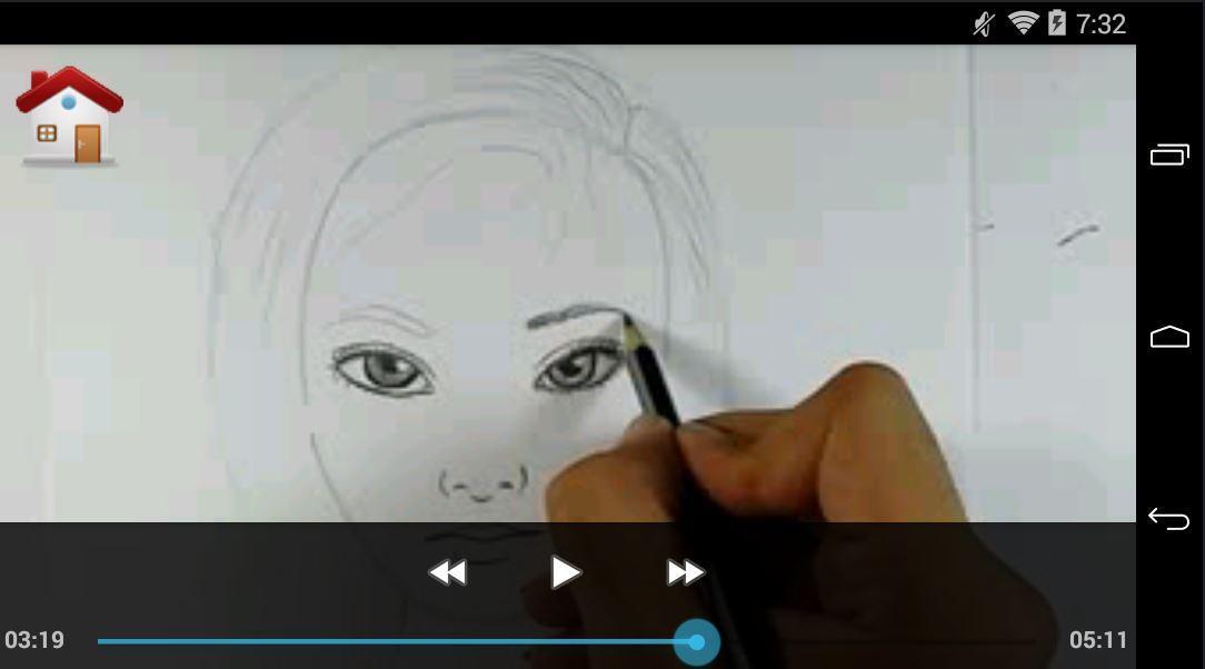 تعلم رسم الوجه بقلم الرصاص بالفيديو For Android Apk Download