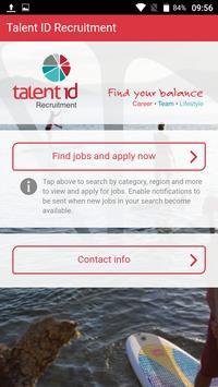 Talent ID poster