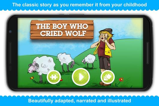 The Boy Who Cried Wolf poster