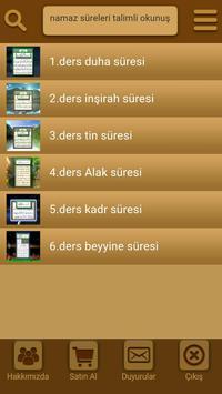 Görüntülü namaz süreleri poster