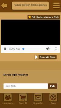 Görüntülü namaz süreleri screenshot 1