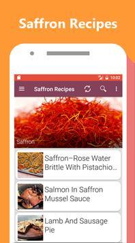 Saffron Recipes apk screenshot
