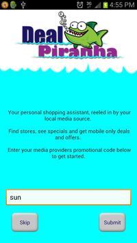 Deal Piranha poster