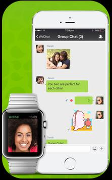 Talk Friends With Wechat poster