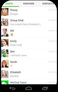 Talk Friends With Wechat apk screenshot