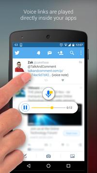 Talk and Comment - Voice notes screenshot 4
