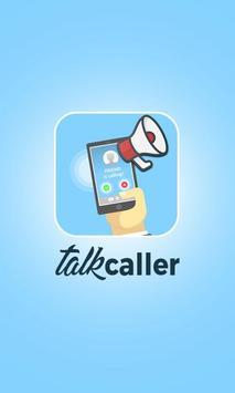 talkCaller - Speaker & SMS Talker poster