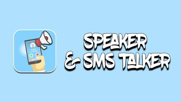 talkCaller - Speaker & SMS Talker screenshot 1