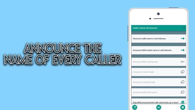 talkCaller - Speaker & SMS Talker apk screenshot