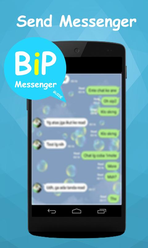Free bip messenger advice for android apk download.