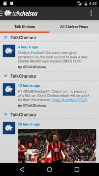 Talk Chelsea poster