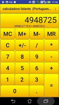 calculadora falante poster