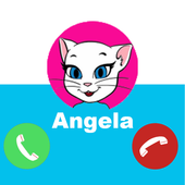 Angela Call you - Fake Call from Talking Angelaa icon