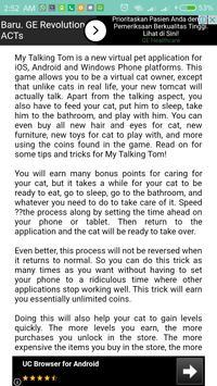 Guide Talking Tom Free screenshot 4