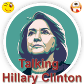 Talking Hillary Clinton icon