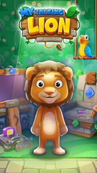 My Pet Lion Talking Game: Virtual Animal poster
