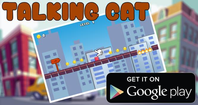 Talking cat Run 2 apk screenshot