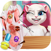 Talking Cat Foot Care icon