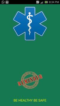 Talking Medicine Reminder APP poster