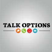 Talk Options icon