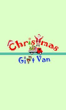 Christmas Gift Van poster
