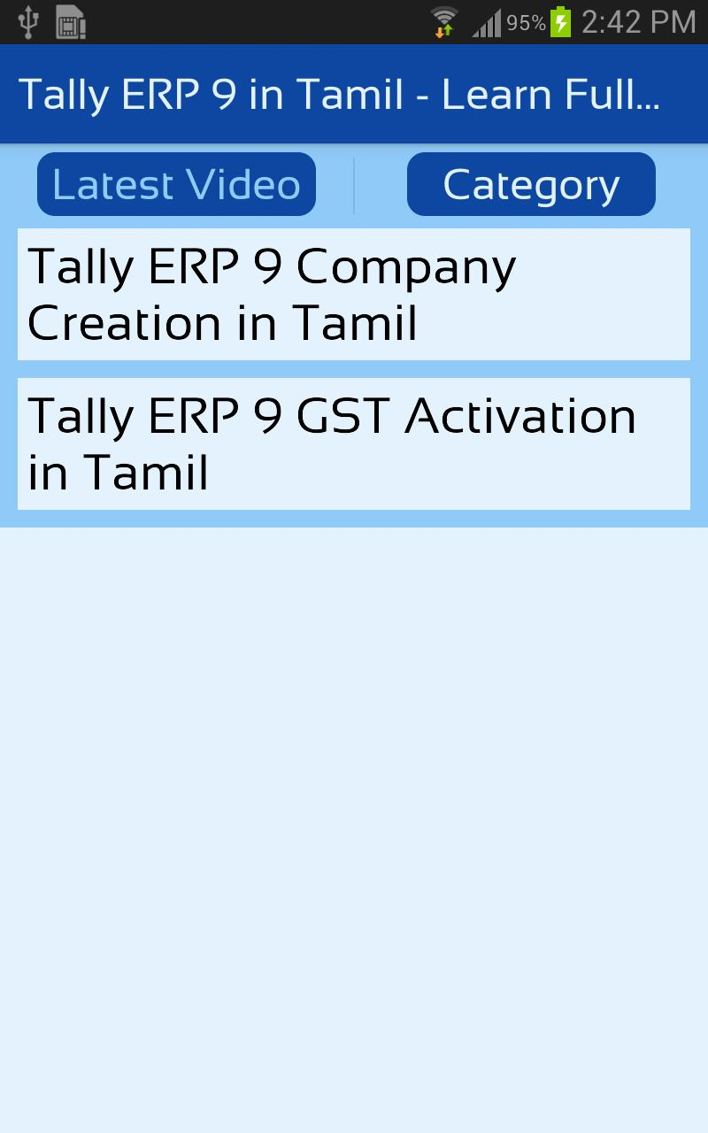 Tally erp 9 in tamil learn full course with gst google play 上.