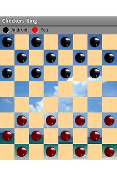 Checkers King Free For Tablet apk screenshot