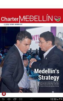 Charter Medellín poster