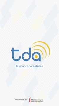 Buscador de antenas TDA poster