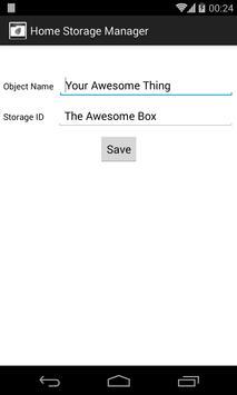 Home Storage Manager apk screenshot